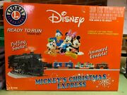 Lionel Train Mickeyand039s Christmas Express 6- 31946