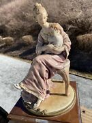 G. Armani Florence Italy Mother And Child 12 Ht. X 8 Wide Vintage/old.