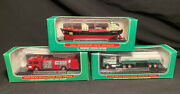 Mini Hess Trucks 1998, 1999, And 2002 3 Fantastic Condition, Never Been Opened
