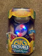Brand New Sealed Milton Bradley Big Trouble Game Pop-o-matic Action With Lights
