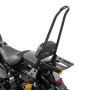 Sissy Bar+luggage Rack Csxl For Harley Sportster Forty-eight 48 Special 18-20 Bl