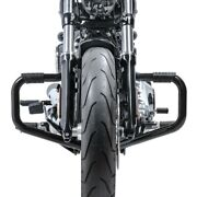 Engine Guard Mustache Ii For Harley Cvo Softail Deluxe 14-15 Black