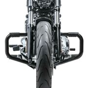 Engine Guard Mustache Ii For Harley Softail Deluxe 05-17 Black
