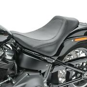 Solo Seat For Harley Softail Deluxe 18-20 Solorider Brw1 Craftride