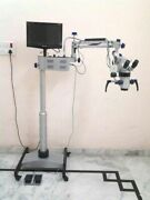 Ent Operating Microscope 5 Step Lcd Camera Motorized Age100