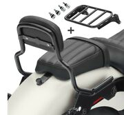 Sissy Bar For Harley Breakout / 114 18-20 Xs Luggage Rack And Docking Kit Black