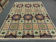 9and039 X 12and039 Super Fine Hand Knotted Mamluk Aryana Wool Rug 11248