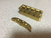 Alembic Series 1 Or 2 Bridge And Tail Piece For A 4 String Bass New Old Stock