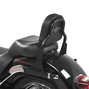 Sissy Bar For Harley Davidson Fat Boy Special/ Lo 10-17 Css Black