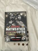 Rare Floyd Mayweather V Miguel Cotto Official Programme Plus Mgm Room Key Card