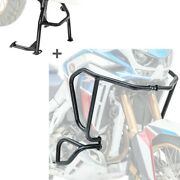 Engine Guard + Centre Stand Set For Honda Africa Twin Adventure Sports 1100