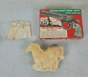 Vintage Hopalong Cassidy's Horse Topper In Pure Castile Soap In Unpunched Box