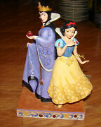 Evil And Innocence Jim Shore, Disney Tradition 6008067 Snow White And Evil Queen