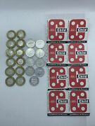 Lot Of Vintage Retired Toronto Transit Commission Ttc Tokens21 And Tickets6