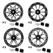 18and039and039 X 5.5and039and039 Rear Wheel Rim W/ Hubs Fit For Harley Touring Non Abs Models 08-20