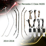 New 64 Colors Ambient Light For 2014 2015 2016-2018 Mercedes C Class W205 Glc Us