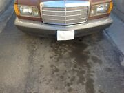 81-85 Mercedes W126 300sd Front Bumper Cover Assembly Silver Oem