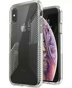 Speck Presidio Perfect-clear With Grip Case Compatible Apple Iphone X Xs 44.95