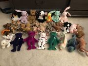 Assorted Rare Beanie Babies With Error Tags