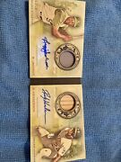 2020 Topps Allen And Ginter Reggie Jackson And Rickey Henderson Dual Auto Andrsquod /10