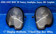 ✅ 2000 2003 Bmw Z8 Left Right Pair Headlight Oem Xenon Hid Complete 2001 2002