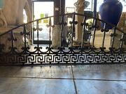 Old Arched Iron With Greek Keys Design 70x20