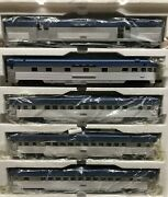 ✅mth Premier Nickel Plate Road 70andrsquo Streamlined 5 Car 18andrdquo Passenger Set 20-6526