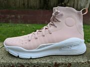 Ds Under Armour Curry 4 Flushed Pink Sz 11 Mvp I Iv Dubnation Finals Ii 2