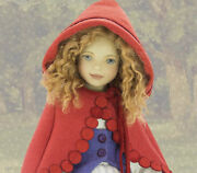 Maggie Iacono Red Riding Hood Doll By Maggie Made