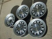 1968 1969 Ford Mustang Torino Gt 14x6 Styled Steel Wheels Restored Trim + Caps