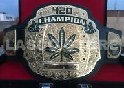Lascoand039s 420 Weed Wrestling Championship Heavyweight Title Belt