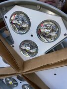 Massive Round Holophane Hmled2 Moontower Led Lights New In Box By Acuity 90 Deg.