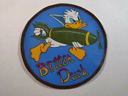 Ww 2 Nose Art B-17 95th B.g. 8th A. F. Leather Jacket Patch