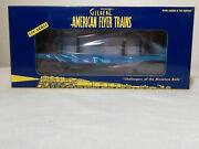 American Flyer 6-48535 Great Northern Flatcar With Bulkheads