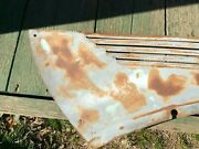 1938 Ford Standard Hood Side Grille Rs With Turndown