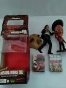 Used Horror Headliners Xl A Nightmare On Elm Street/leather Face/playing Cards