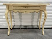Ethan Allen Country French Console Table, 26-9302 In 636 Hand Decorated Finish