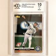 """1994 Alex Rodriguez """"a-rod"""" 1 Classic Games Rookie Graded Bccg 10 Mlb Card"""