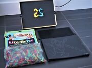 Vintage 1967 Hasbro Lite-brite With Pegs Pictures Disney Characters Working