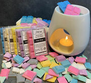Homemade Highly Scented Wax Melt Bar - 100 Soy Wax Melts Candle Burner Gift Fun