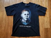 Vintage Halloween Purely And Simply Evil Movie Promo T Shirt Xl Michael Myers