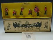 W. Britain Royale Marine Light Infantry Toy Soldiers Set Made England Mib