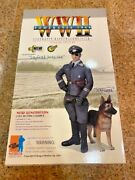 1/6 Dragon 1/6 Scale Wwii German Siegfried Groschke And Schnapps Dog Action Fig