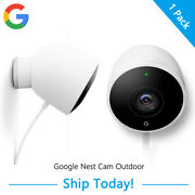 Google Nest Cam Outdoor 1080p Hd Video, Night Vision, Field Of View For Home