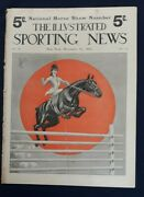 Illustrated Sporting News Weekly Magazine Horse Show Number 11/12 1904