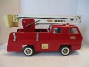 Vintage Tonka Snorkel Bucket Firetruck With Lift And Water Nozzle Fire Truck
