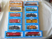 Life Like Cp Rail Engine Cars Bachmann Tyco Cars, Other Total Of 12 And Tracks