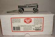 Valucast Pewter Arcade Toys 101 Wagon Express Flyer, 1 Of 10,000, New In Box