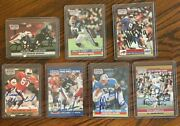 1990 And 1991 Nfl Pro Set Signed Football Cards 7 Different Players