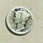 1923 S Mercury Silver Dime-coin Is A Represention Of The Thought Of Liberty